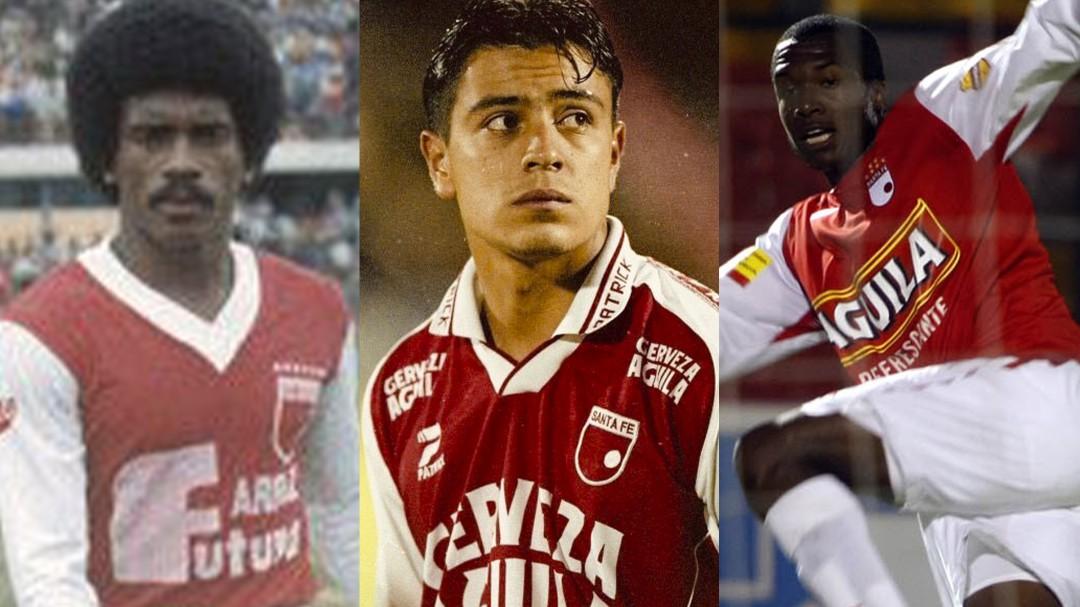 Giraldo y los últimos jugadores que pasaron de Santa Fe a Millonarios