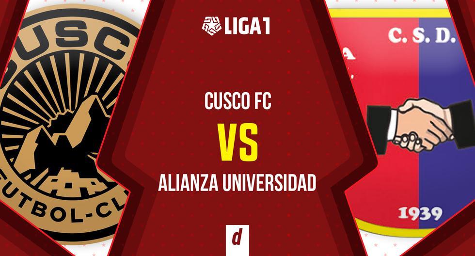Hoy, Cusco FC vs. Alianza Universidad EN VIVO EN DIRECTO ONLINE GRATIS por GOLPERU y Movistar Play en transmisión para todo el Perú. Minuto a minuto e incidencias del partido.   FUTBOL-PERUANO