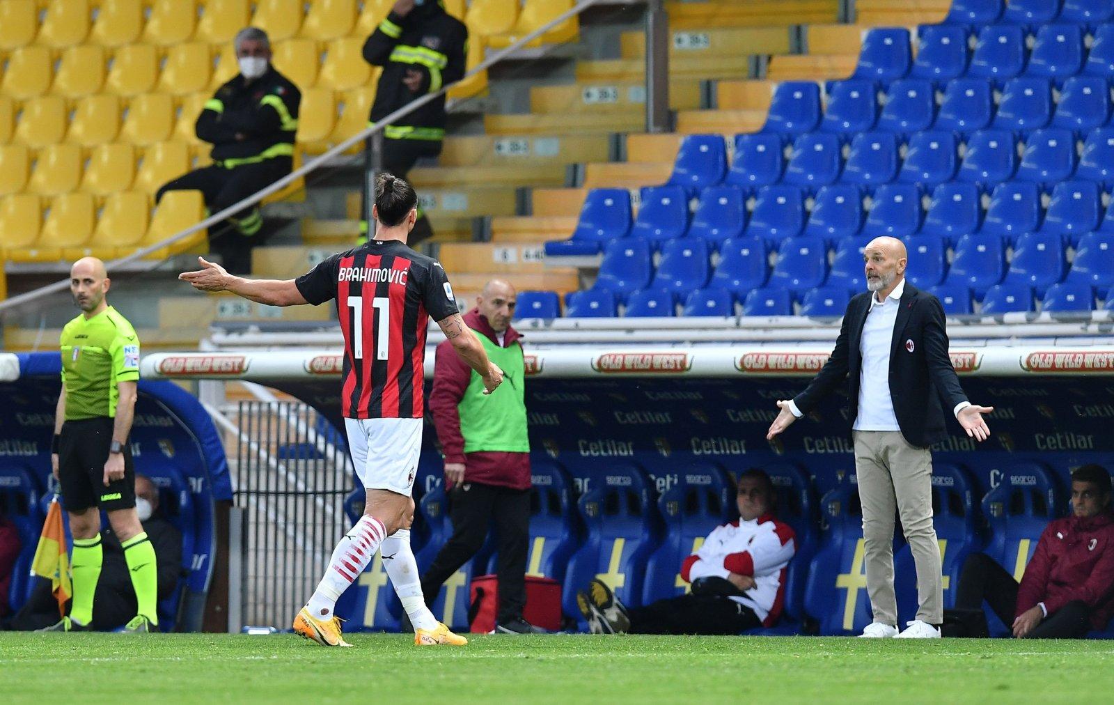Ibrahimovic set to miss AC Milan's first Serie A game