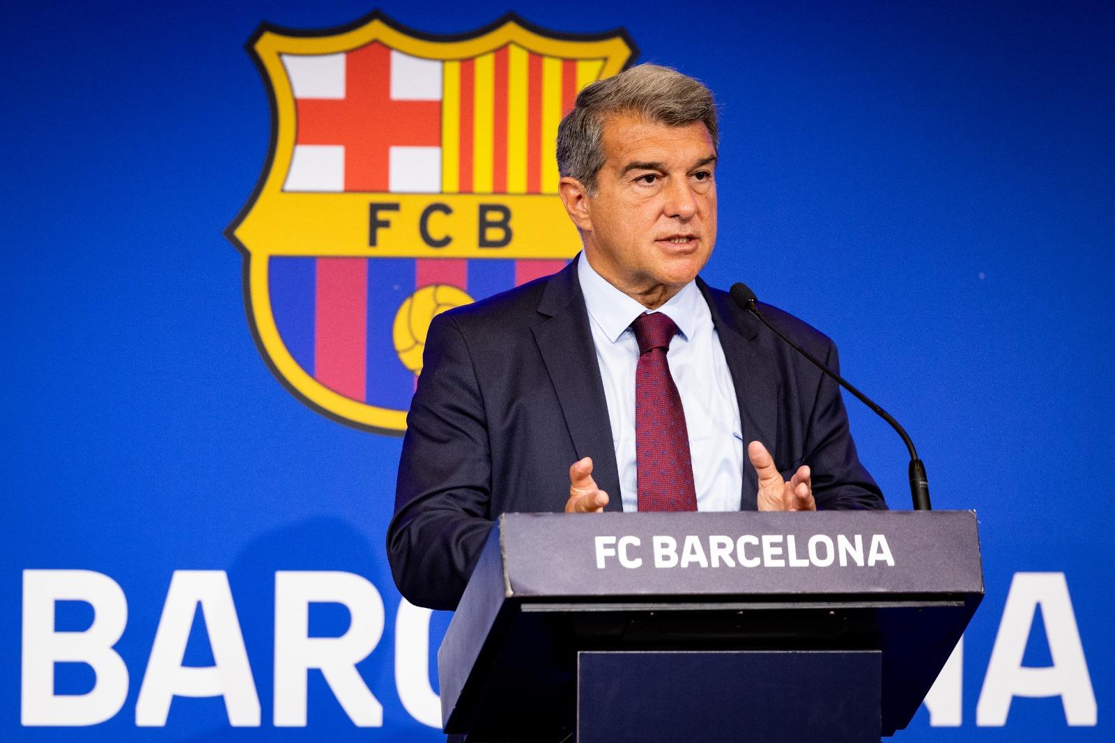 Joan Laporta sale disparado y detalla el alcance de la crisis financiera de Barcelona