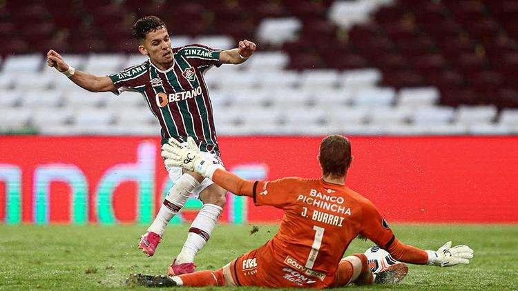 La lesión muscular quita a Gabriel Teixeira de la decisión del Fluminense en Liberta