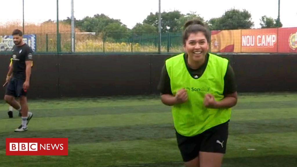 Las británicas asiáticas abordan el fútbol 'tabú'