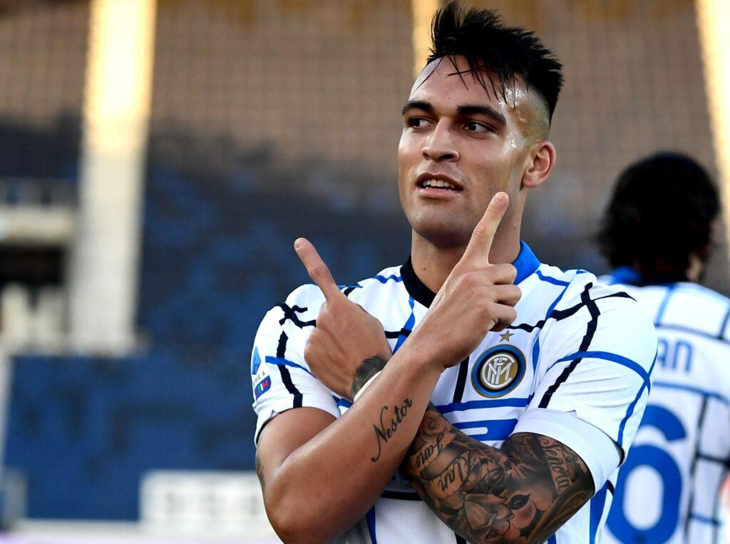 Lautaro Martínez, feliz en el Inter: apunta a quedarse