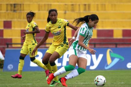 Liga Femenina hoy: Nacional derrotó a Bucaramanga y sigue metido en la pelea   Futbol Colombiano   Fútbol Femenino