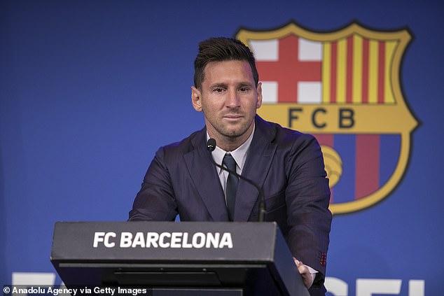 Lionel Messi se despidió del Barcelona el domingo y está listo para mudarse al Paris Saint-Germain