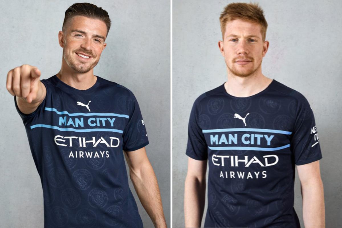 Los fanáticos del Manchester City califican la tercera camiseta nueva 'realmente horrible' de £ 70 como la 'peor de todas' y dicen que es más como un kit de entrenamiento