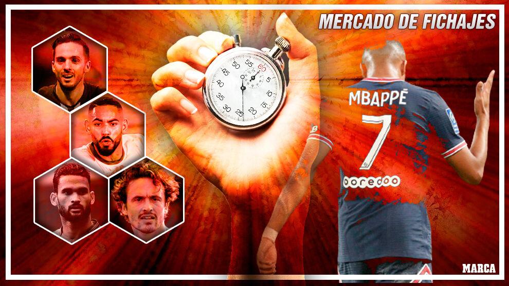 Mbappé y el resto: todos los acuerdos que los equipos de LaLiga Santander buscan concretar