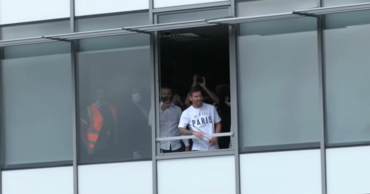 Messi aterriza en París, revoluciona la ciudad y el PSG envía enigmático mensaje en Twitter