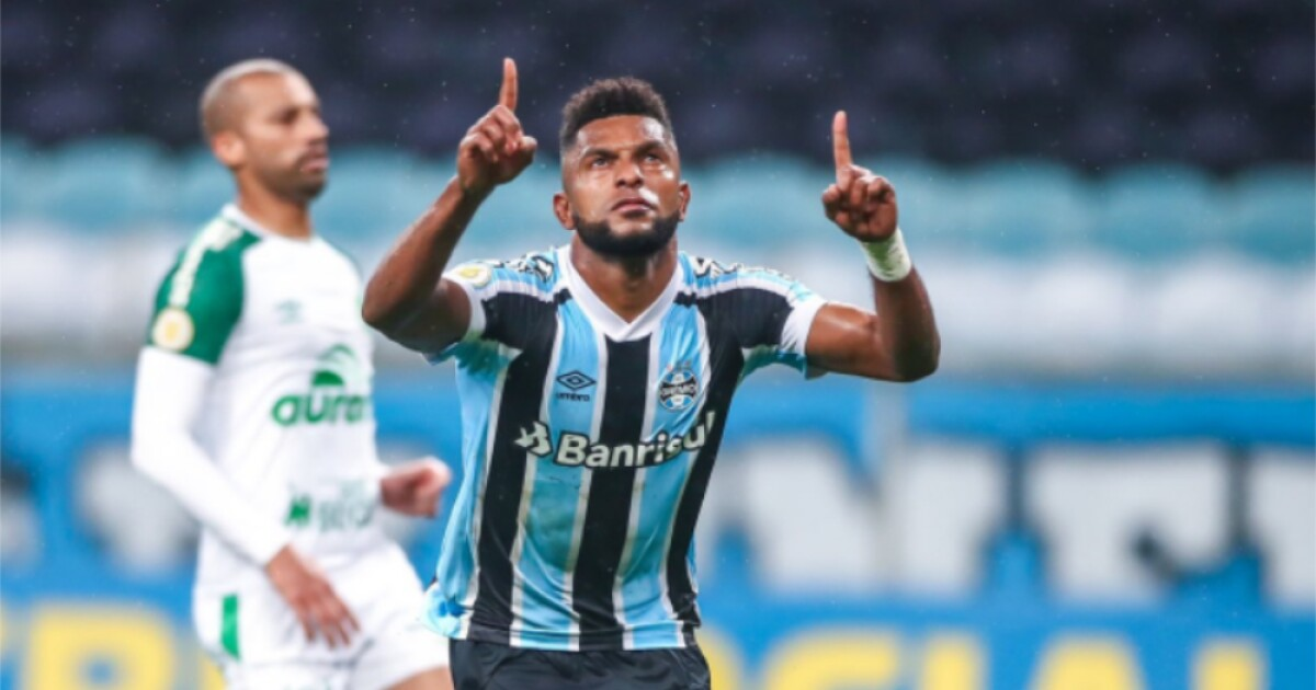 Miguel Ángel Borja anotó su segundo gol con Gremio