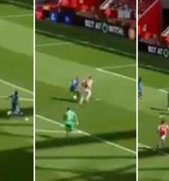 Mira a la estrella del Chelsea Hakim Ziyech perder el GOL ABIERTO contra Arsenal mientras los Gooners elogian al novato Ben White por la persecución de 'salvar goles'