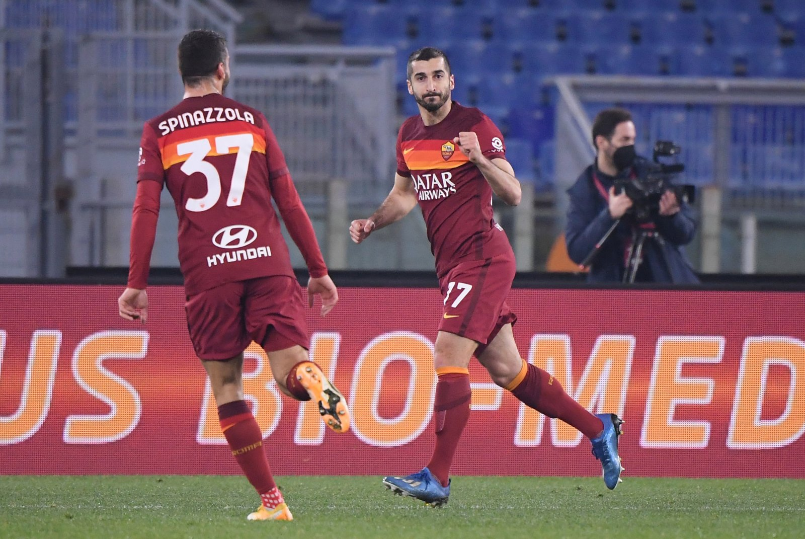 Mkhitaryan: Roma will do everything to fight for the Scudetto