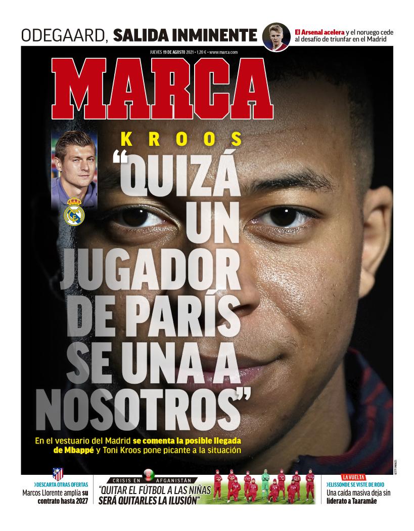 Papeles de hoy: el Madrid no renunciará a Mbappé, el Barcelona mira al futuro