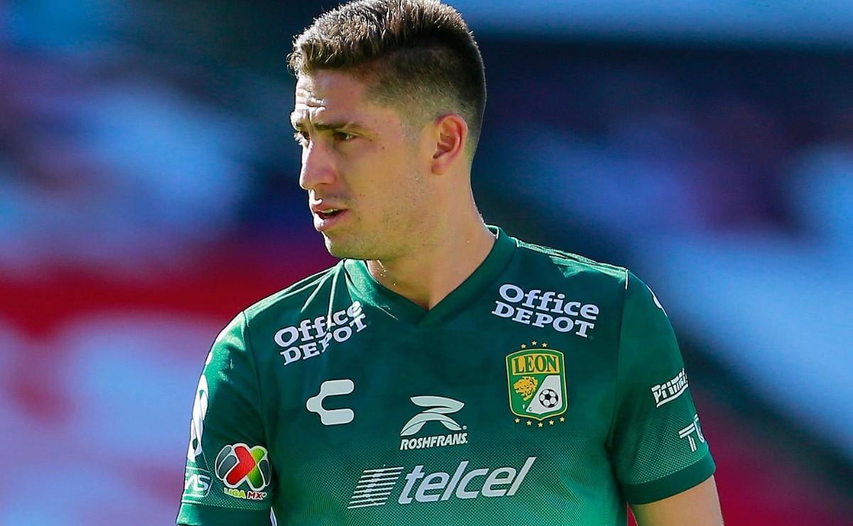 Santiago Ormeño enciende las alarmas en León y es duda para el partido vs Mazatlán