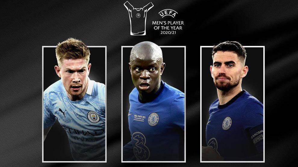 Se anuncian los nominados para el Premio al Jugador del Año de la UEFA 2020/21
