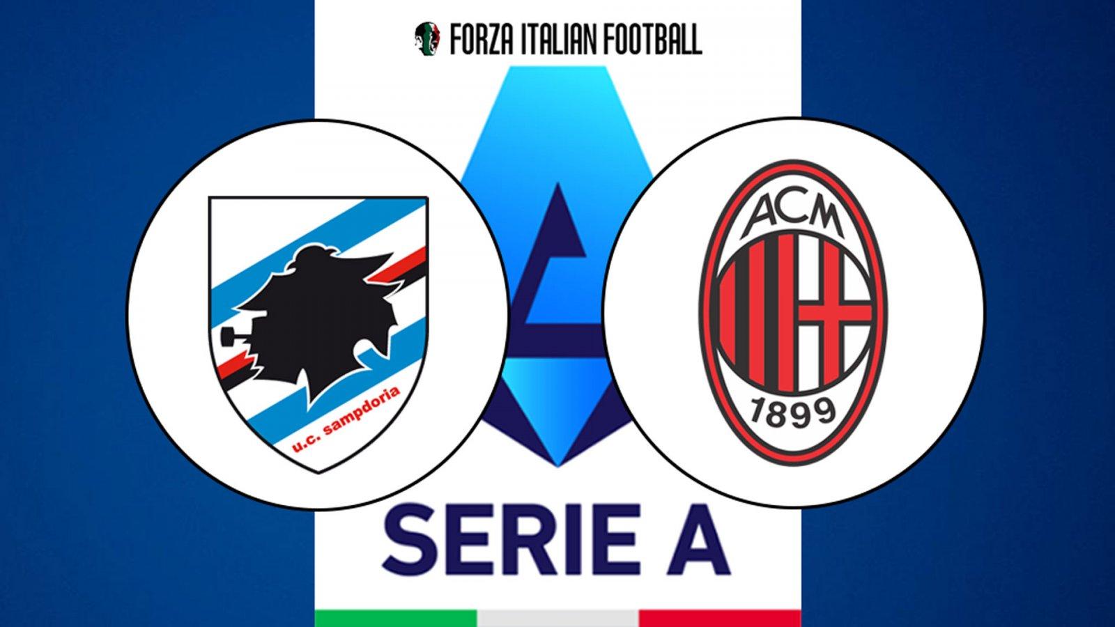 Serie A LIVE – Sampdoria v AC Milan: Probable line-ups, team news and how to watch