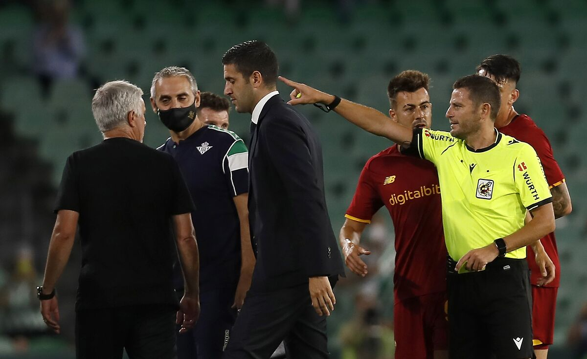 Serie A: Mourinho's Roma showing a little too much fight in pre-season
