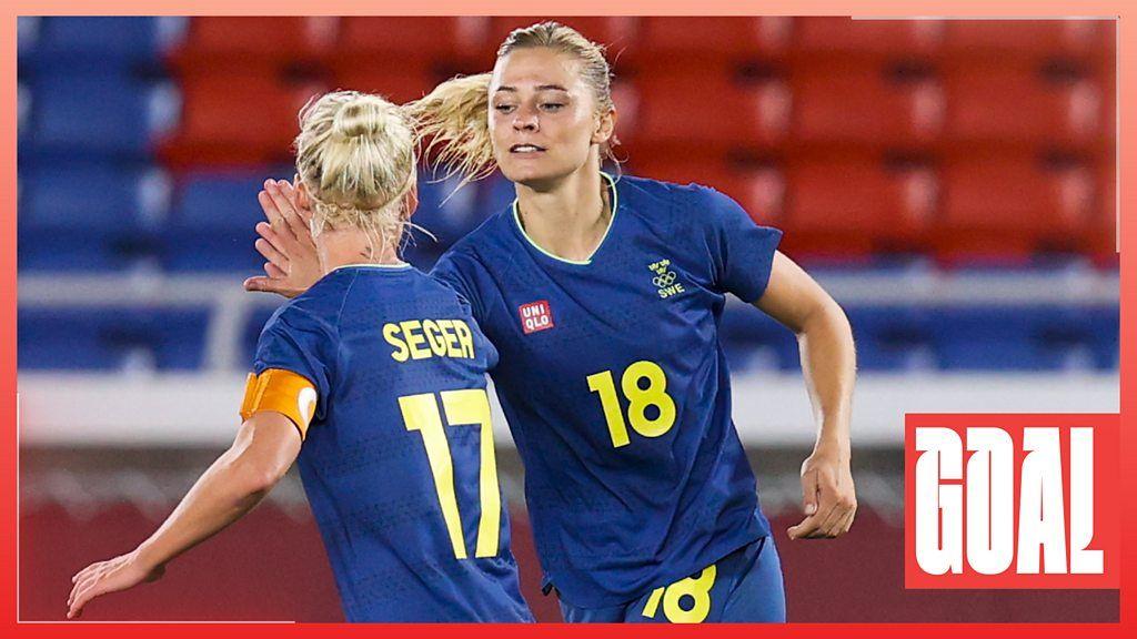 Tokio 2020: Fridolina Rolfo anota el ganador de la semifinal de Suecia contra Australia