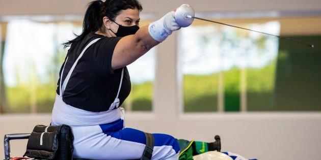 Tokio 2020 |  Monica Santos ajusta últimos detalles en el CT Paralímpico |  Juegos Paralímpicos |  Juegos Paralímpicos