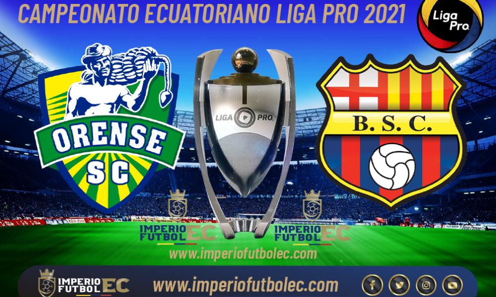 VER PARTIDO Orense vs Barcelona EN VIVO por la jornada 4 Etapa 2 de la Liga Pro Ecuador