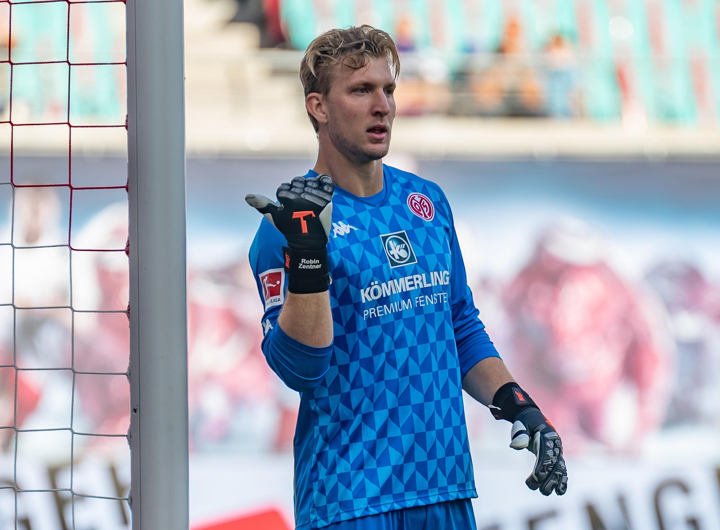 Zentner seguirá siendo el portero de primera elección del Mainz