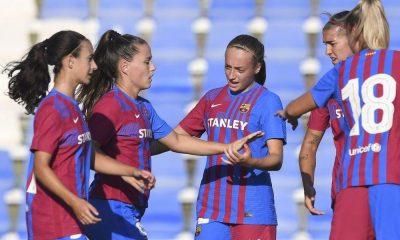 el nuevo Barça femenino de Giráldez arranca sin piedad