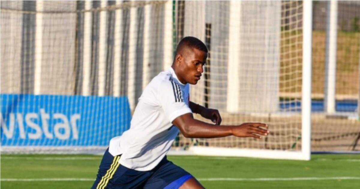 estoy muy contento de estar nuevamente con la Selección Colombia