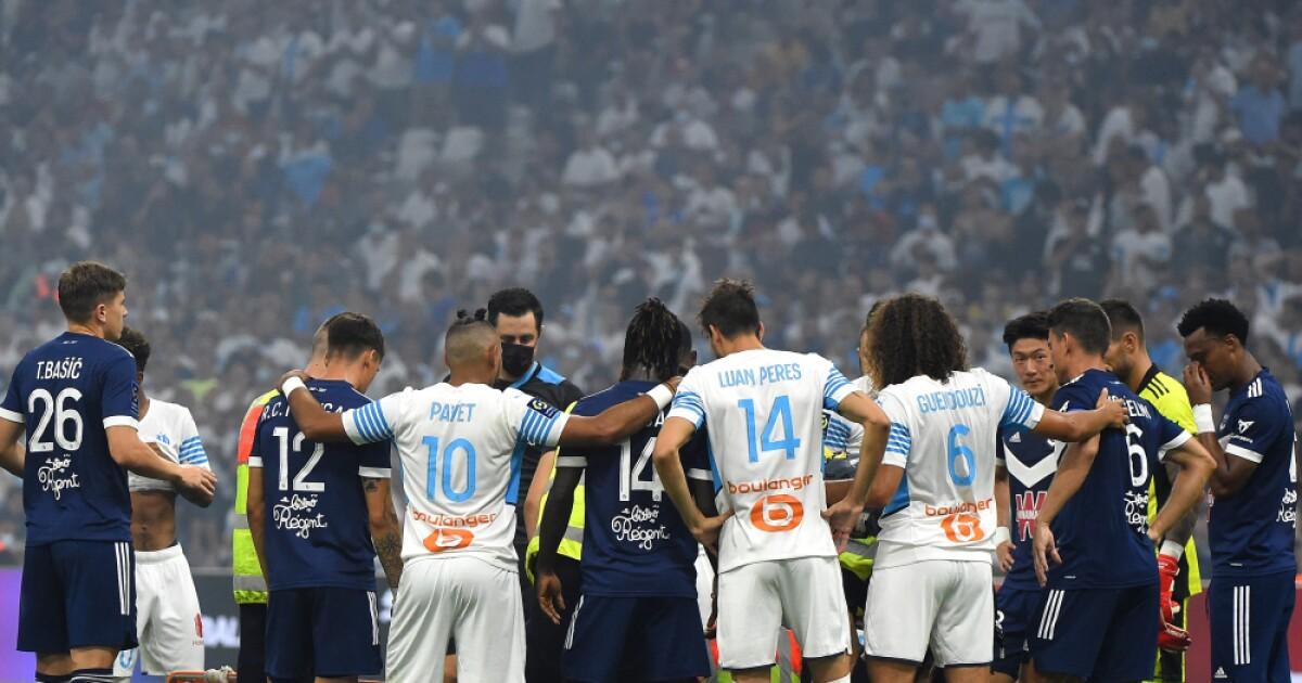 futbolista Samuel Kalu se desplomó en la cancha en juego de Marsella-Burdeos
