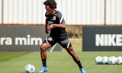 ¿Ahora va?  Se espera que Willian vuelva a los entrenamientos este miércoles y tiene 'programado' su debut con el Corinthians