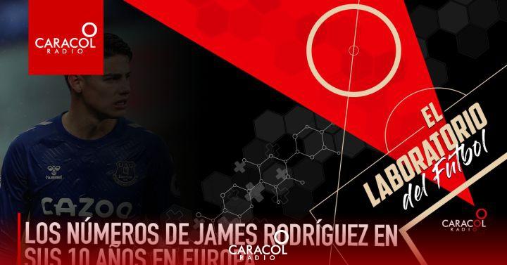 Al-Rayyan James: Los números de James Rodríguez en sus 10 años en Europa   Caracol Podcast