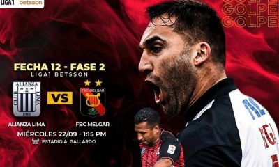 Alianza vs Melgar en vivo por GOLPERU: Transmisión del partido, Liga 1