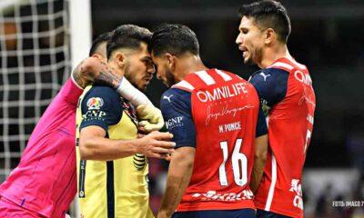 América: ¿Perdonaron la expulsión a jugadores de Chivas en el Clásico Nacional?