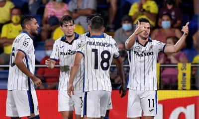 Atalanta strike late to deny Villarreal
