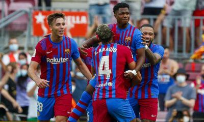Barcelona 3-0 Levante |  LaLiga: el Barcelona se recupera ante el Levante