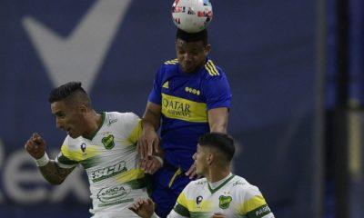 Campuzano y Fabra jugaron en el empate de Boca Juniors contra Defensa y Justicia en liga argentina