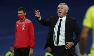 Carlo Ancelotti admite que el Real Madrid tuvo problemas en el sorteo del Villarreal