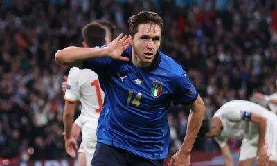 Chiesa: Italy goal was emotional but I want to win