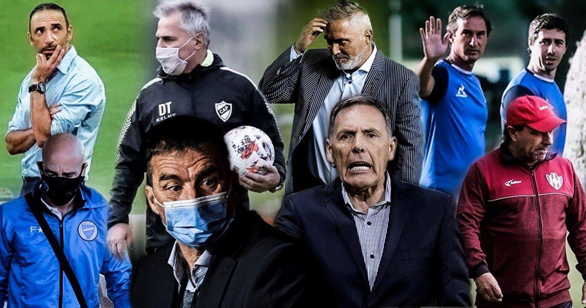 Con Madelón y Azconzábal, ¿cuántos son los técnicos que se quedaron sin trabajo en lo que va del torneo?