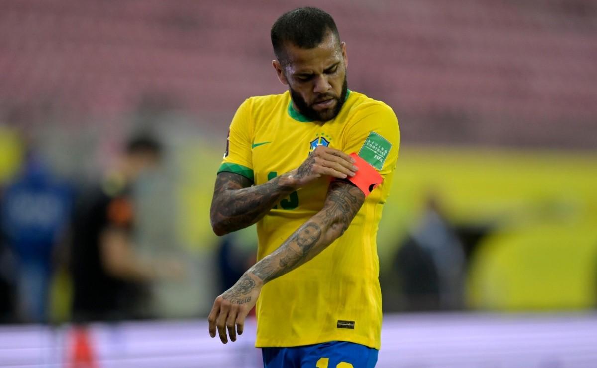 Daniel Alves: ¡FIN DE LA NOVELA!  Daniel Alves informa cuál será su futuro hasta finales de 2021
