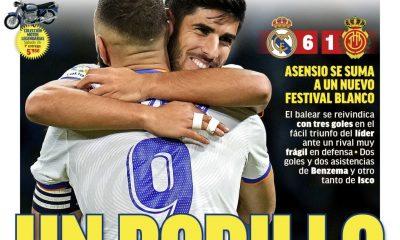 Documentos de hoy: El Madrid arrasa con Mallorca mientras Koeman pide apoyo antes del choque de Cádiz