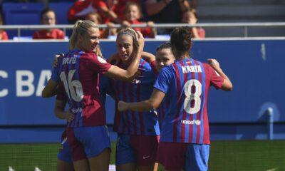 El Barça Femeni arrasa con todo a su paso.