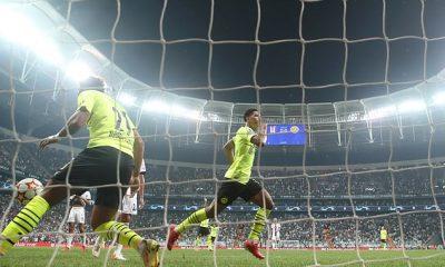 El centrocampista Jude Bellingham anotó una volea impresionante para el Borussia Dortmund ante el Besiktas
