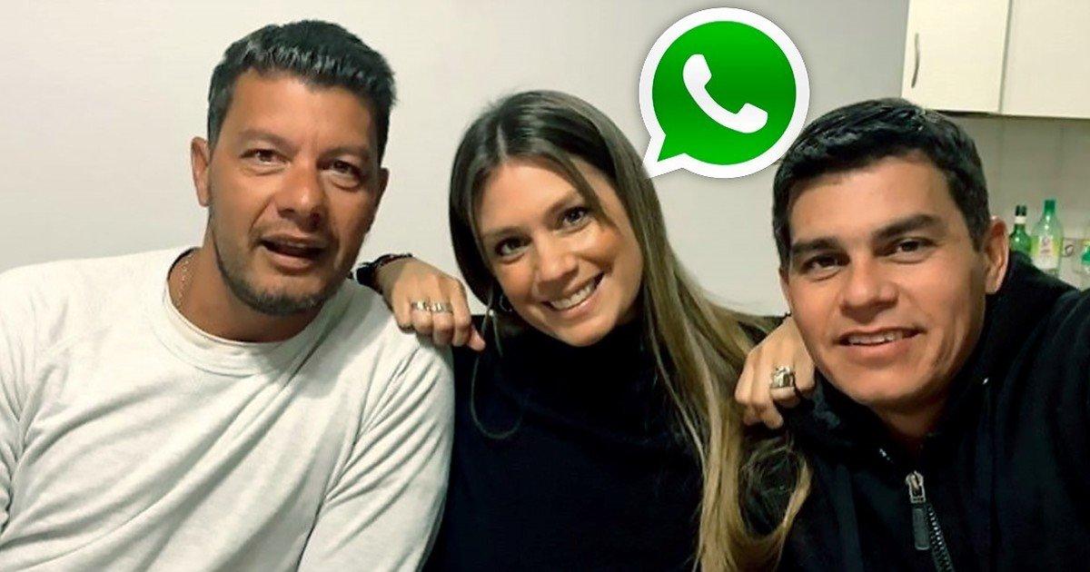 El particular nombre del grupo de WhatsApp de la familia Battaglia