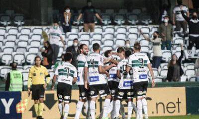 En Couto Pereira, Coritiba vence al guaraní y lidera la Serie B