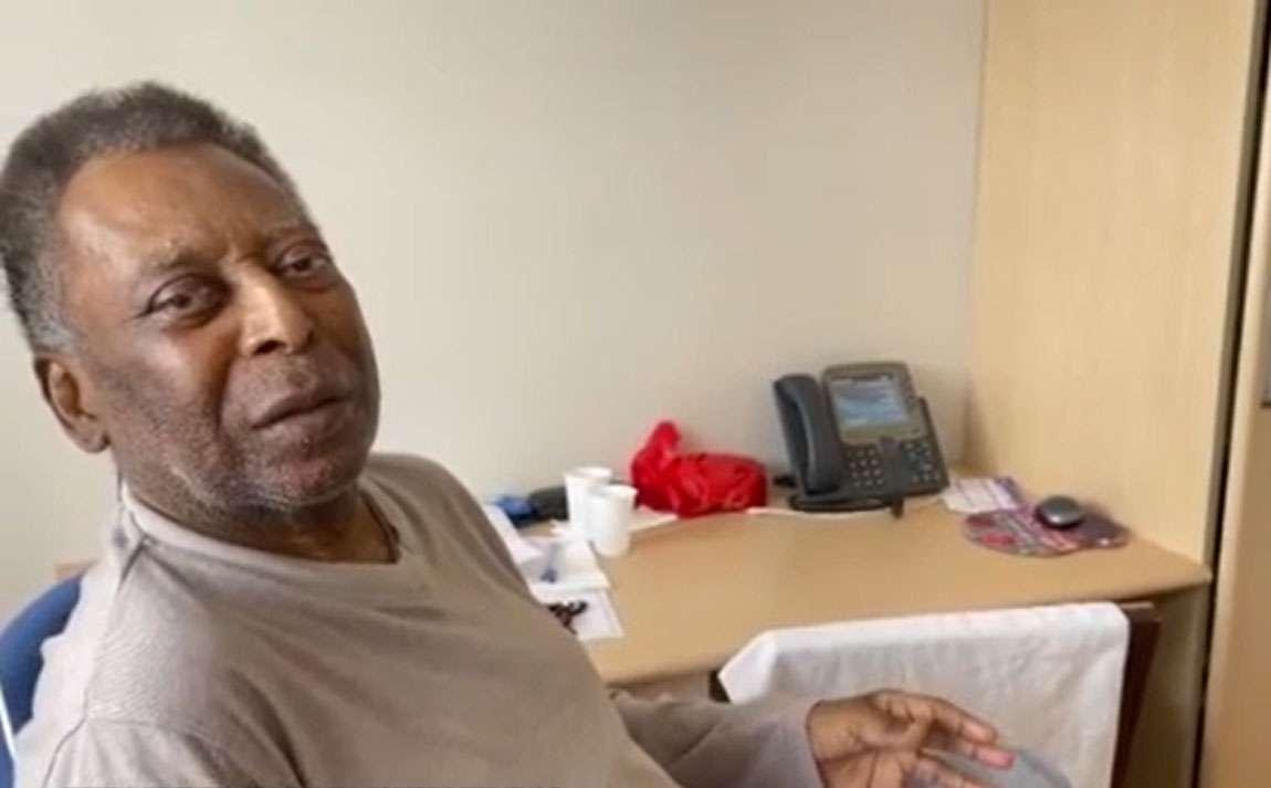 En un nuevo video, Pel canta el himno de Santos en una habitación de hospital;  ¡vea!