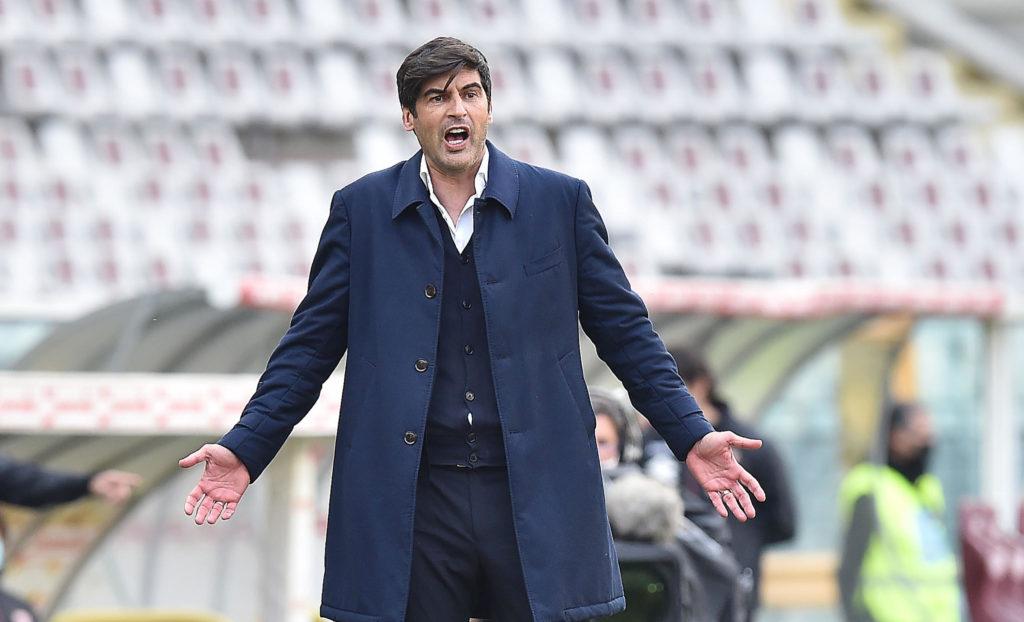 Ex-Roma coach Paulo Fonseca