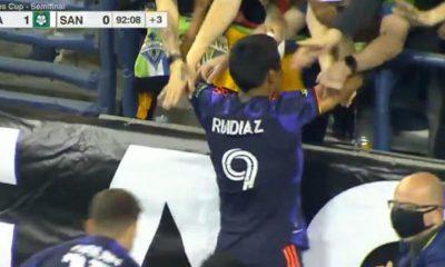 GOL Raúl Ruídiaz en Santos Laguna vs. Seattle Sounders: video por la Leagues Cup 2021 | VIDEO | NCZD | FUTBOL-PERUANO