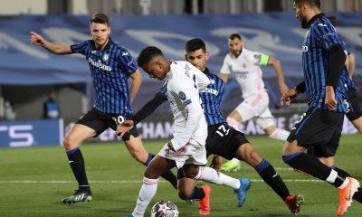Gol de Rodrygo en el Inter vs Real Madrid de la Champions League