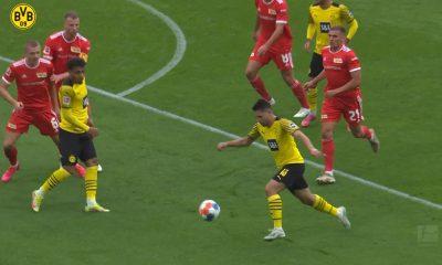 Guerreiro y Haaland marcan maravillosos goles contra Union Berlin