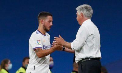 Hazard no recibió minutos en Milán