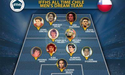 IFFHS publicó once ideal de la selección chilena » Prensafútbol